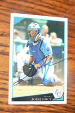 John Buck 2009 Topps Signed Autographed Card # 322 Kansas City Royals!