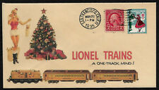 1935 Lionel Trains & Pin Up Girl Featured on Collector's Envelope *XS249