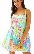 NWT Lilly Pulitzer Multi Lovers Coral Ardleigh Dress, Sz 8, $178