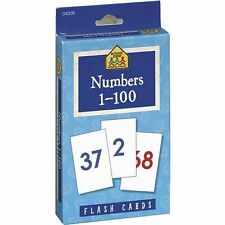 School Zone 1-100 Numbers Flash Cards.