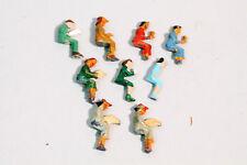 MMM/Märklin sitzende Figuren Metall Guß  H0 50er Jahre