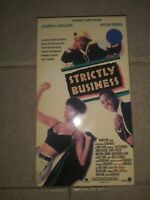 Strictly Business (VHS, 1992) Tommy Davidson, Halle Berry - Rare Comedy