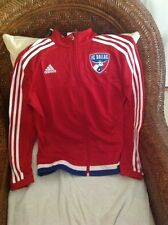 Adidas FC Dallas mls soccer  Track anthem jacket  new with tags size S women's
