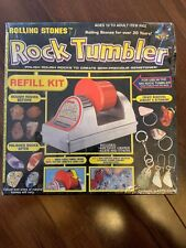 New listing Rolling Stones Classic Crafts Rock Tumbler Refill Kit Sealed Box Dinged