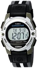 Timex Expedition Unisex Classic Digital Alarm Nylon Indiglo Watch TWH2Z8710