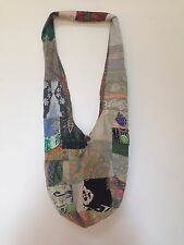 Ethnic Hippie Hobo Sling Bag Shoulder Bag Travel School Unisex PATCHWORK Batik
