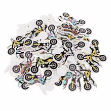 Botones de Madera de Colores Arte Manualidades Niños Bici del motor coser crochet Decoraciones Hágalo usted mismo