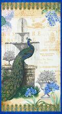 Palais Jardin Peacock Panel by Robert Kaufman