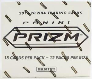 2019-20 Panini PRIZM BASKETBALL MULTI-PACK Cello BOX (12 CT.) Factory Sealed
