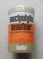 Ancienne boite Métal Tole Mucipulgite Beaufour mucilage  Pharmacie Vintage