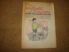 1938 le Petit Vingtieme con Jo Zette & Jocko in Colour