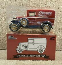 1993 Racing Champions 1:25 Diecast Model A Delivery Van Bank Morgan Shepherd