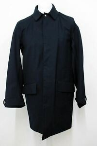 RALPH LAUREN Purple Label Men's Sydney Unlined Navy Blue Coat Size S BNWT