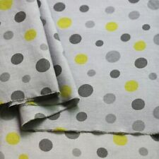 1 Yard Cute Polka Dots Fabric Natural Cotton Silk Material For Dress Children