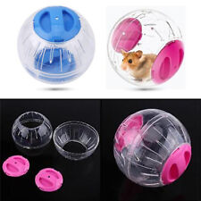 More details for pet running ball plastic grounder jogging hamster pet small exercise toy 10cm