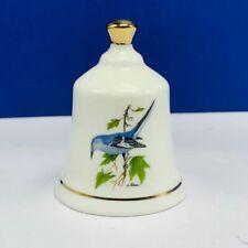 Danbury Mint state bird Bell porcelain collection Arkansas Ar mockingbird decor