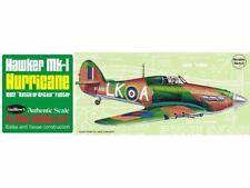 Guillows 506 Hawker MKI Hurricane Ww2 Fighter Balsa Wood Scale Kit