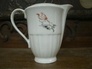 Antica Rara LATTIERA Ceramica T. BISAZZA-FERRARA MESSINA RICHARD GINORI Anni '40