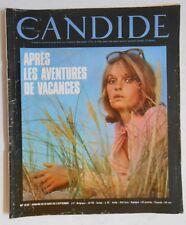 ► CANDIDE 331/1967- FOLIE AMERICAINES - ANDY WARHOL - SEAN CONNERY - EVA RENZI