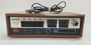 —TESTED FULLY WORKING!— SONY TC-228 8 Track Tape Deck Recorder VINTAGE VTG