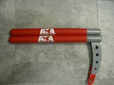 """new ATA KARATE TAEKWONDO Weapons PAIR Ssahng Nat Kamas 12"""" Inch YOUTH"""