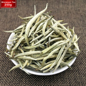 250g AAAA+ 2020 100% Organic Silver Needle White Tea Chinese Bai Yin Premium Tea