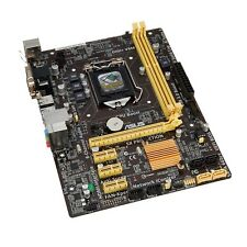 Plaque Base Asus H81M-Plus Douille LGA 1150 Intel 4ª Gen DDR3 90MB0GI0-M0EAY0