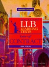 LLB Learning Text: Law of Contract (Blackstones LLB Learning Texts)-Neil Lucas