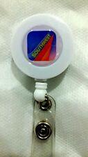 Southwest Airlines YO YO ID Card Badge Holder Retractable Reel Lanyard WN Logo