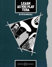 Learn As You Play Tuba - Music Book for Tuba