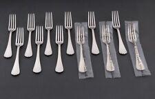 Métal argenté Christofle Spatours - 12 Fourchettes à dessert - 12 dessert Forks