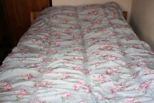 Rachel Ashwell Simply Shabby Chic Ruched Cabbage Rose Twin Duvet w/ Pillow Sham