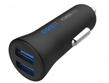 NEW Cygnett Power Mini 2.4 Dual USB Car Charger Smartphone Tablet Fast Charging!