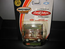 MATCHBOX COLLECTIBLES 1957 CHEVROLET CORVETTE CONVERTIBLE   AS NEW ON CARD 1/64