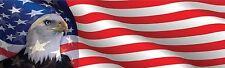 EAGLE USA FLAG FREEDOM HELMET STICKER LAPTOP STICKER TOOLBOX STICKER HARD HAT