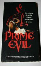 Prime Evil - 1988 HORROR FILM (VHS, 1999) Rhino Video Release - Free Shipping