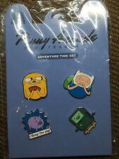 Pinny Arcade PAX Adventure Time Pin Set - Finn Jake Bmo Floop