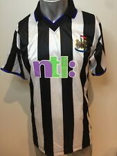 Newcastle United Vintage 'Malance' Soccer Football Jersey Classic Lovely  LG
