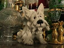 More details for rare italian 1950 cacciapuoti scotty dog west highland terrier china figurine