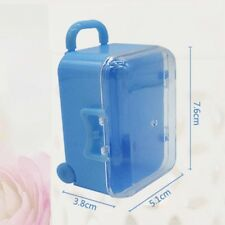 1pcs Mini Travel Suitcase Birthday Baby Party Wedding Favors Gift Package Box