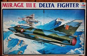1/48 ESCI Mirage IIIE Delta Fighter