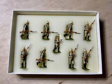 Marching 1:32 British Lead Figures Scale Link 1914-18 WAR B2a