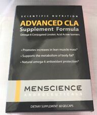 MenScience Androceuticals Advanced CLA Supplement Formula 60 gelcaps