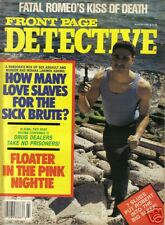 FRONT PAGE DETECTIVE MAR 1989 FOREST CITY IA FLINT MI