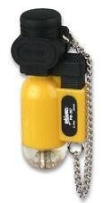 Prince encendedor blazer Torch amarillo con cadena nuevo en Alemania sin gastos de envío