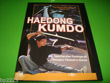 HAEDONG KUMDO: Korean Sword Art (DVD, 2007), Martial Arts, Combat Drills, NEW