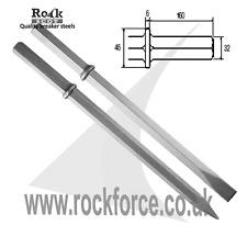 """Esagonale 32 mm (1 1/4 """") Punto & Scalpello! 600mm lunga! strumento di qualità"""