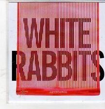 (CZ9) White Rabbits, Temporary - 2012 DJ CD