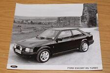 Fotografía de prensa Ford Escort RS Turbo 1988/89