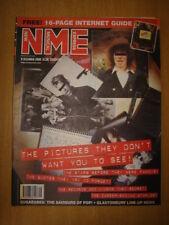 NME 2000 DEC 9 SUGABABES SMASHING PUMPKINS OASIS BLUR